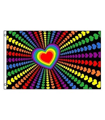 Drapeau Love Rainbow