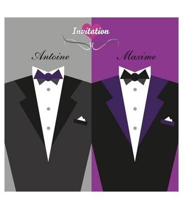 Costume de mariage lesbien