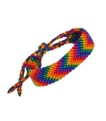 Bracelet amitié rainbow large