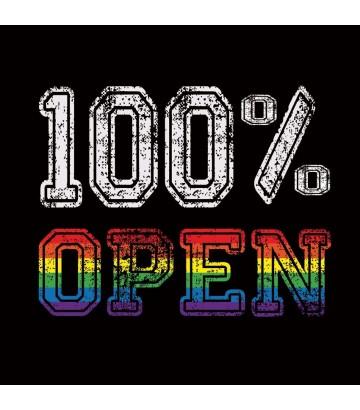 Tee shirt 100% OPEN