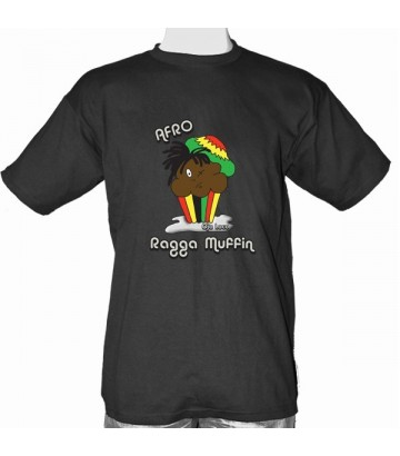 Tee shirt Afro Ragga Muffin - homme M