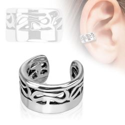 Faux piercing cartilage tribal
