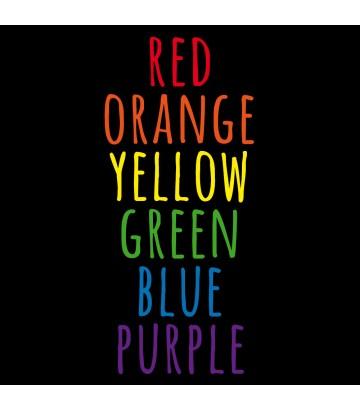 T shirt US Gay Colors