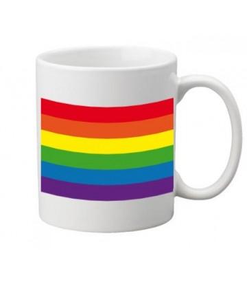 Mug gay lesbien Rainbow flag arc en ciel