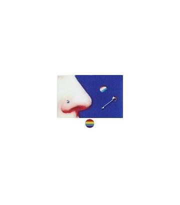 Piercing nez Rainbow