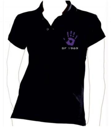 """Polo """"Purple Hand"""""""