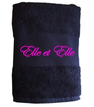 """Serviette """"Elle et Elle"""""""