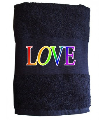 Serviette LOVE gay
