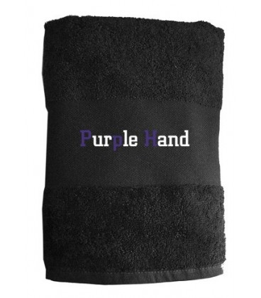 Serviette Purple Hand