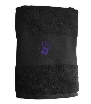 Serviette Purple Hand