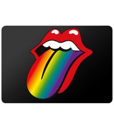 Sticker Pc langue rainbow