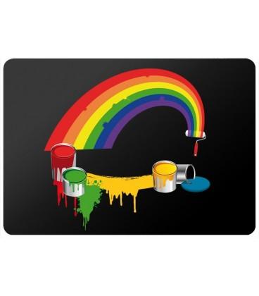 Stickers PC Rainbow Paint