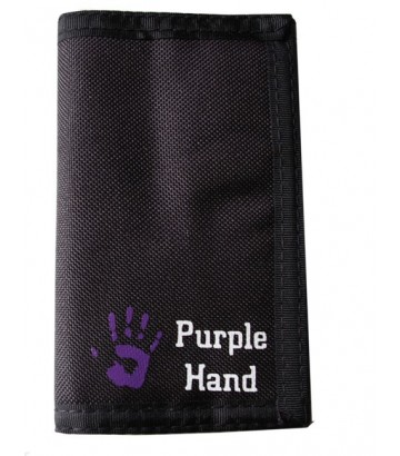 Portefeuille Purple Hand