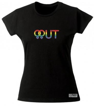 T shir lesbien Out Lesbien du S au 3XL expédition rapide