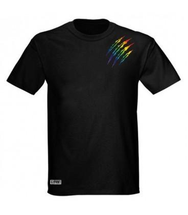 Tee shirt gay lesbien griffe bear