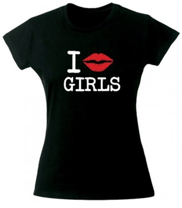 T shirt I kiss Girls
