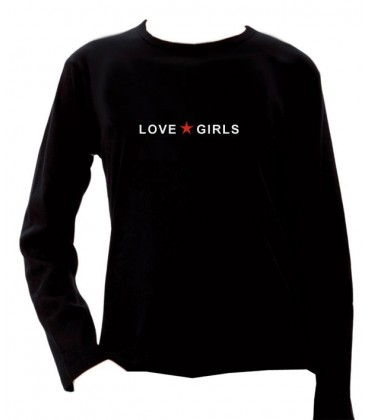 T shirt Love Girls