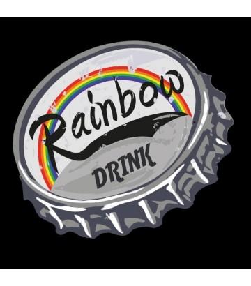 T shirt Rainbow Drink