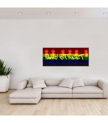 Tableau toile Gay Street