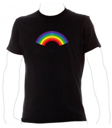 T Shirt gay lesbien Arc en ciel