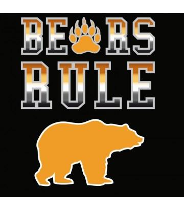 T shirt gay Bears Rule
