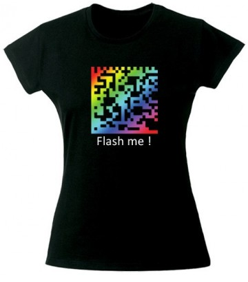 T Shirt Flash me !