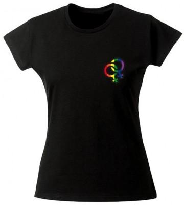 T Shirt Symbole lesbien