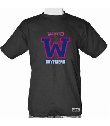 T shirt gay Wanted Boyfriend