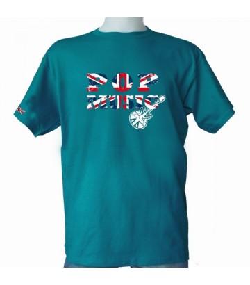 Tee shirt Sympa Pop Musique drapeau anglais