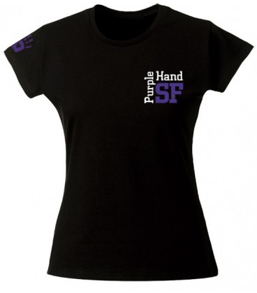Tee shirt Purple Hand