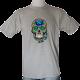 tee shirt tete de mort mexicaine homme