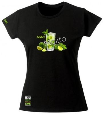 tee shirt Mojito Addict pour les fans de mojitos !