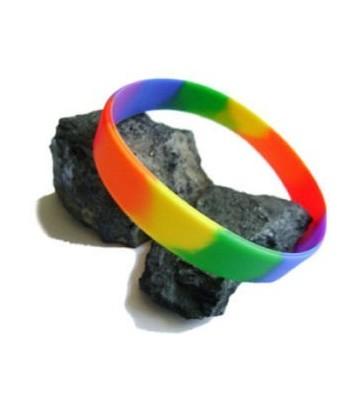 Bracelet Silicone Rainbow