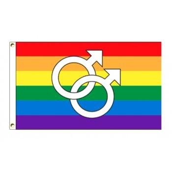 Drapeau GAYPRIDE Rainbow GAY (Rainbow Flag)