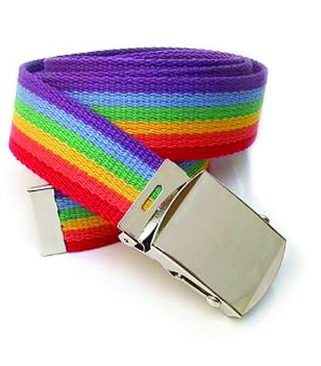 Ceinture gay rainbow