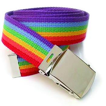 Ceinture gay rainbow