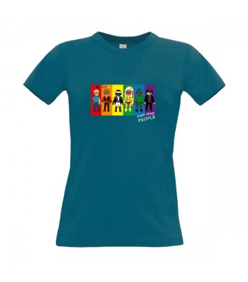 Tee shirt Mobil Village People