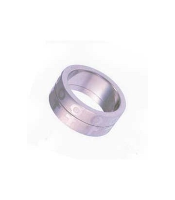 Bague Double satin lesbien