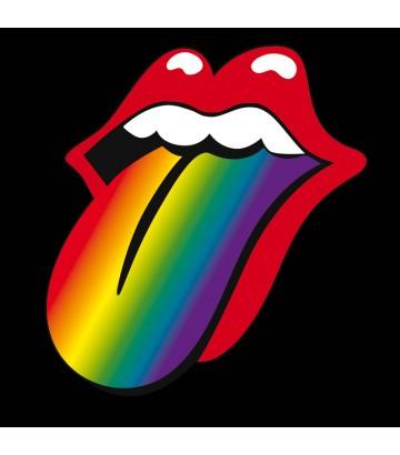 Tee shirt langues Rainbow