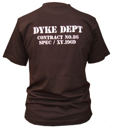 T Shirt Dyke Dept