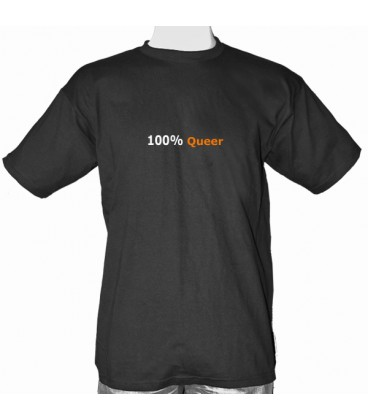 T Shirt 100% Queer