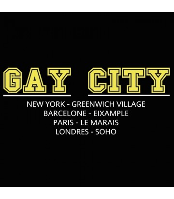 T Shirt GAY CITY - M Homme
