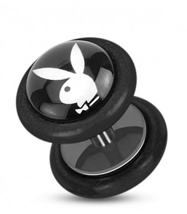 Faux plug Playboy