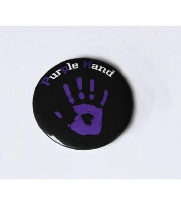 Badge Purple Hand la marque gay lesbienne discrète