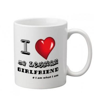 Mug I love my lesbian girlfriend