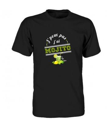 t shirt original j'peux pas j'ai mojito