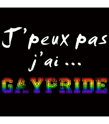 Sweat J'peux pas j'ai Gaypride