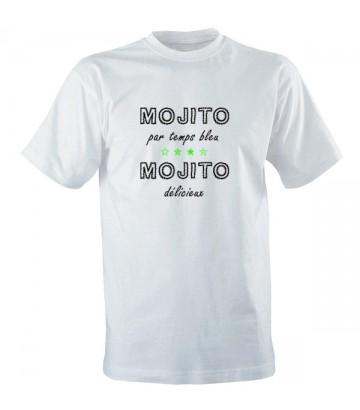 Tee shirt Mojito par temps bleu