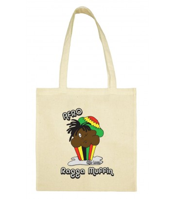 Tote bag Afro muffin