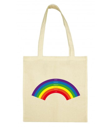 Tote bag arc en ciel gay lesbien